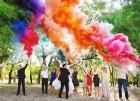 Цветной дым для свадьбы в Белгороде